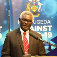Prime Minister Manasseh Sogavare