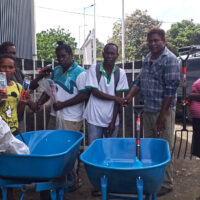 Hauvalisi Kava farmers receives support from Guadalcanal Province extension division officers.